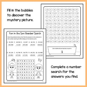 Math Puzzles Bundle - 6th Grade Common Core