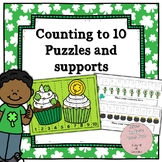 Math Puzzles: Counting to 10 by 1s