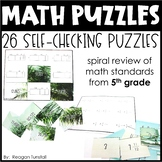 Math Puzzles Fifth Grade