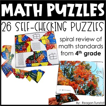 Math Puzzles Fourth Grade