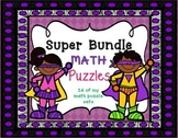 Math Puzzles 2nd Grade   Games and Activities