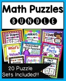 Math Puzzles Huge Bundle of 20 Products!