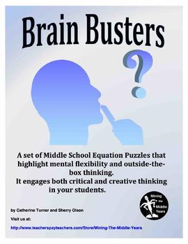 Math puzzles brain teasers pdf