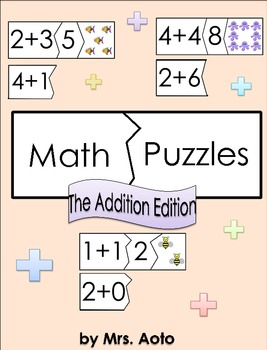 Math Puzzles: The Addition Edition (to 10)