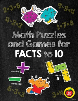 Math Puzzles and Games for Facts to 10
