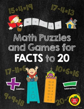 Math Puzzles and Games for Facts to 20