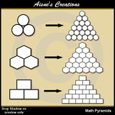 Math Pyramids / Math Templates / Math Puzzles