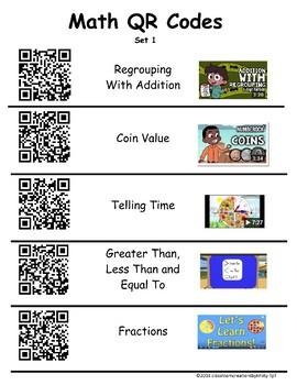 Math QR Codes