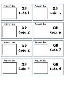 Math QR Codes - FREEBIE!!!