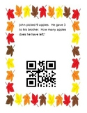 Math QR Readers- Fall Subtraction