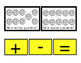 Math QUARTERS How Many Addition Numbers Up to 10 Plus Minu