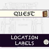 Math Quest: Location Labels