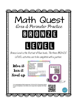 Math Quest (Perimeter & Area) Bundle