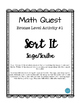 Math Quest (Perimeter & Area) Bundle