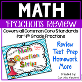 Fractions for all Common Core 4th Grade Standards