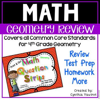 Common Core Geometry - Fourth Grade