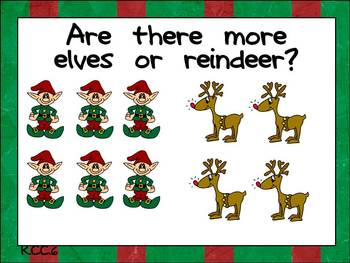 Math Question of the Day- Kindergarten Common Core for December