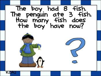 Math Question of the Day- Kindergarten Common Core for January