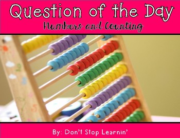 Math Question of the Day: Numbers and Counting