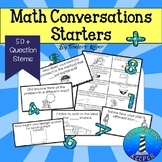 Math Questions Stems & Conversation Starters