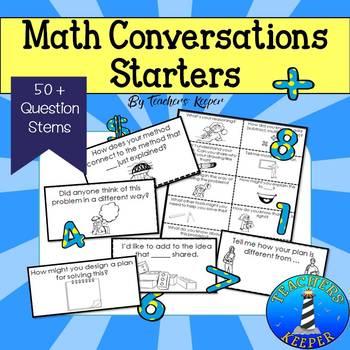 Math Questions Stems & Conversation Starters