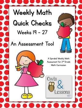 Math Quick Checks - 3rd Quarter