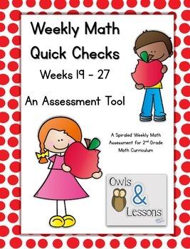 Math Quick Checks - 3rd Quarter