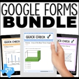Google Forms 5th Grade Math Bundle
