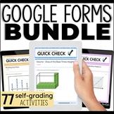 Google Forms 5th Grade Math Bundle