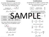 Permutations & Combinations Quick Notes