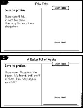 1st Grade Math Journal