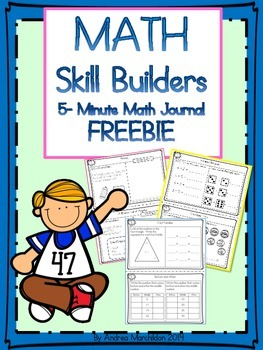 Math Quick Skills Freebie