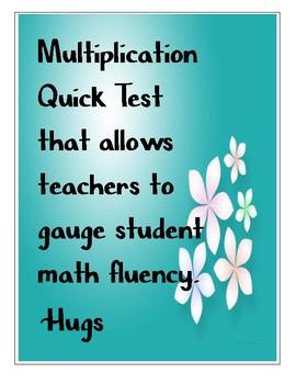 Math Quick Test