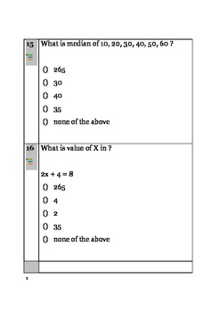 Math Quiz 2 - Numbers,Word Problems,Probability, Sequences,Trigonometry,Geometry
