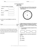 Math Quiz - 3rd Grade - Module 2