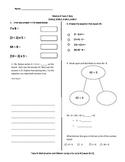 Math Quiz - 3rd Grade - Module 3 Topic C