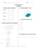 Math Quiz - 3rd Grade - Module 5
