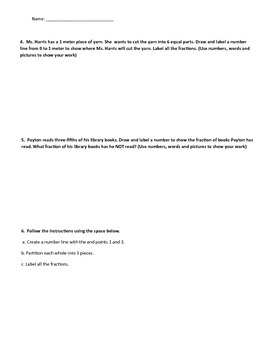 Math Quiz - 3rd Grade - Module 5 Topic D