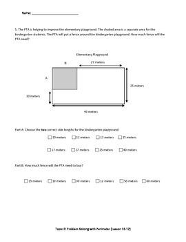 Math Quiz - 3rd Grade - Module 7 Topic C