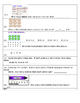 Math Quiz Grades 2 or 3 Add, Subtract, Graphs, Multiply, Divide, Measure