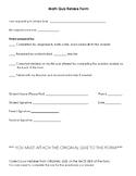 Math Quiz Retake Form - 10 Questions