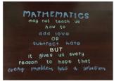 Math Quote Bulletin Board