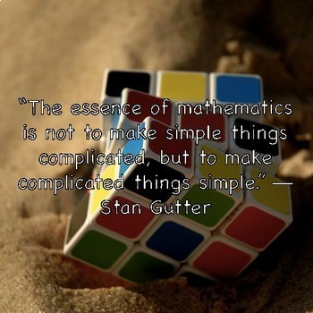 Math Quote Posters