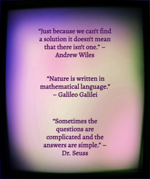 Math Quotes (Poster)