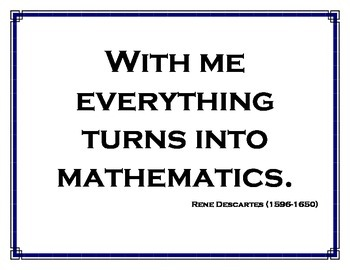 Math Quotes for the Math Classroom