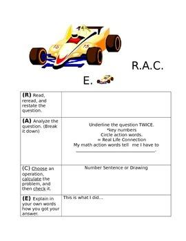 Math R.A.C.E.