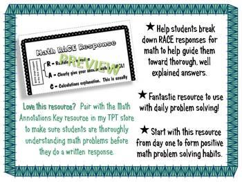 Math RACE Support