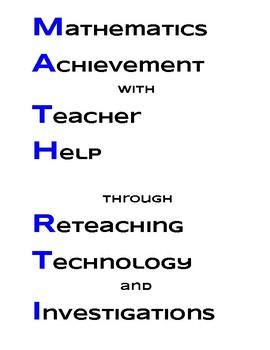 Math RTI Acronym