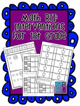 math rti interventions for first grade by clip art by carrie teaching first. Black Bedroom Furniture Sets. Home Design Ideas