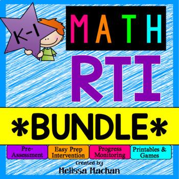 Math RTI / Math Intervention - BUNDLE